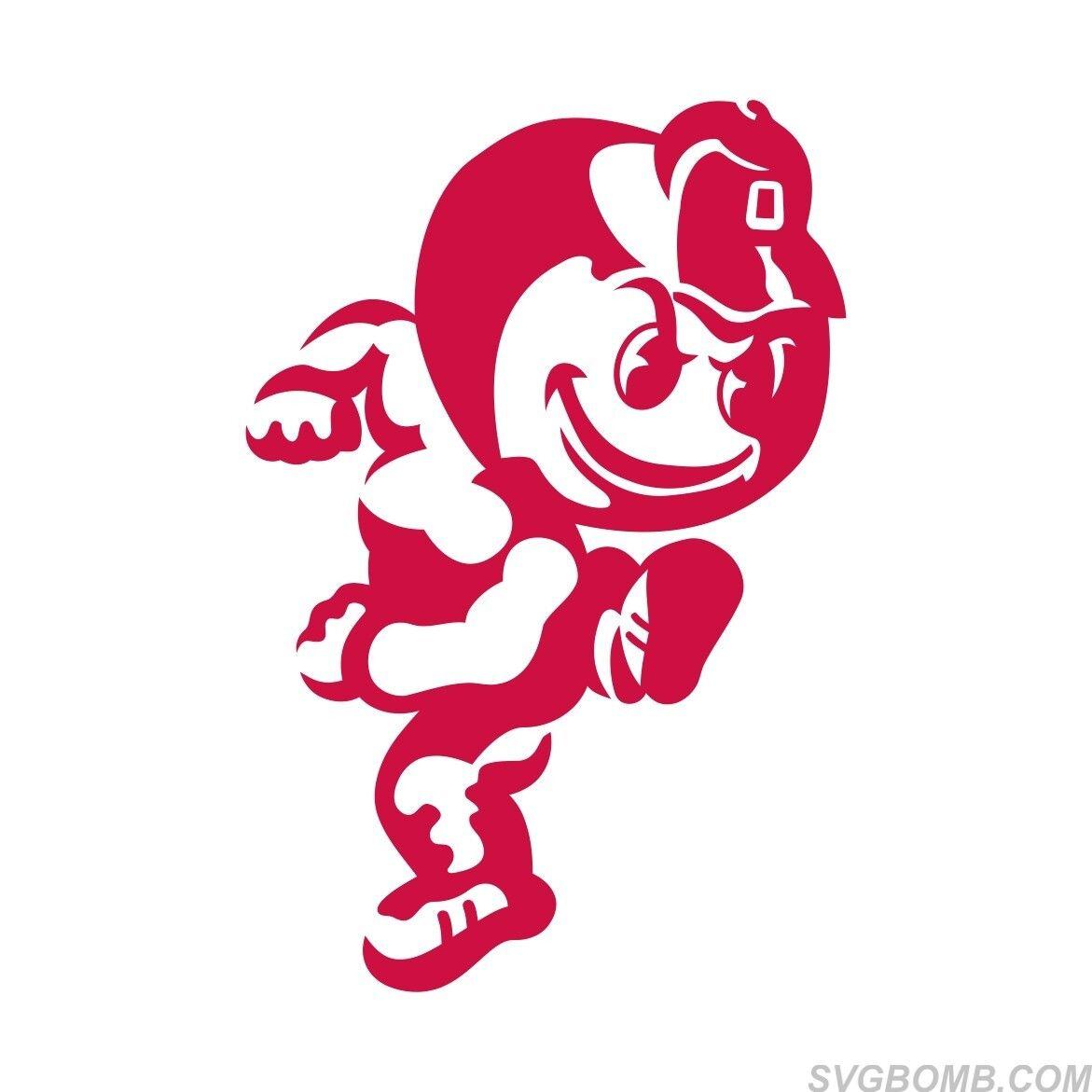 Ohio State Mascot Logo SVG Vector Image | SVGbomb.com