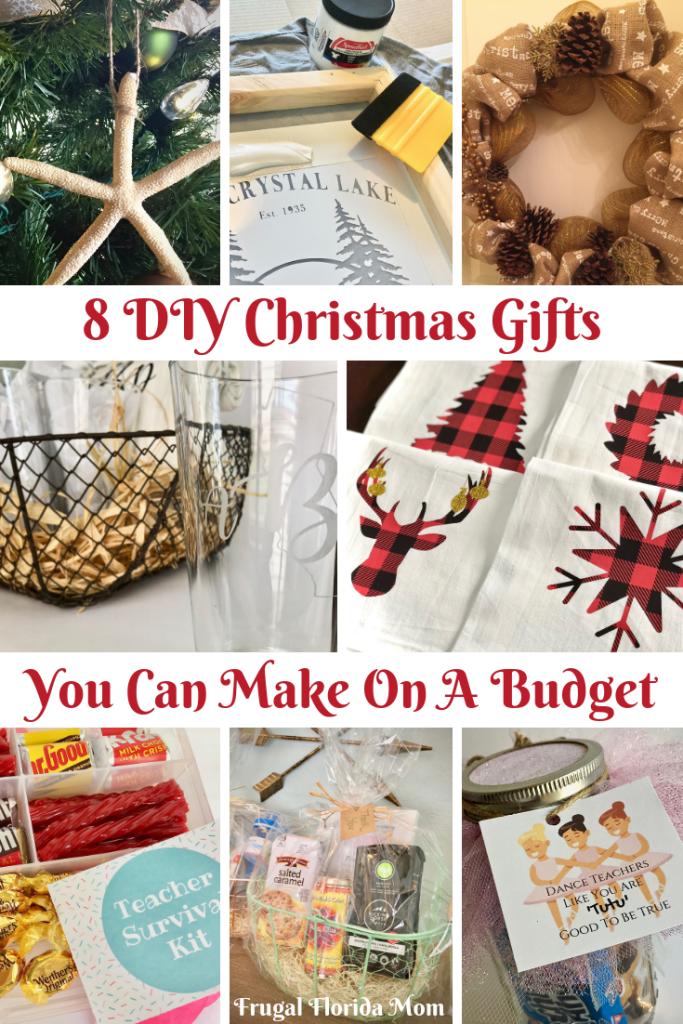 8 Diy Christmas Gifts You Can Make On A Budget Christmas Gift You Can Make Diy Christmas Gifts Affordable Christmas Gifts
