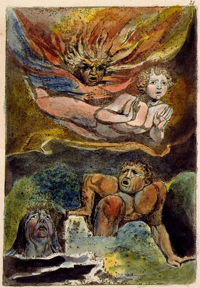 The First Book Of Urizen 21 William Blake Museums And Books