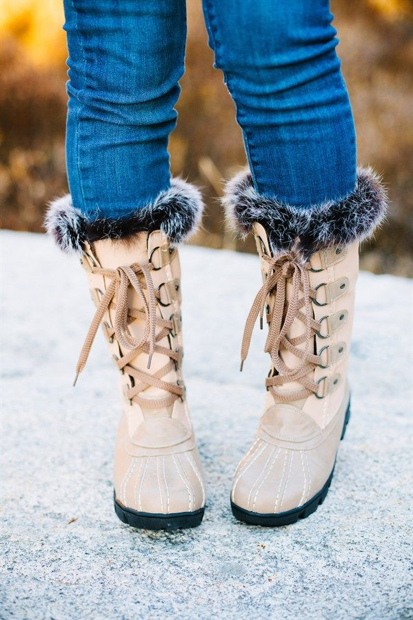 Womens Short Winter Boots