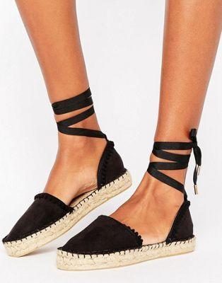 9dc2e821a1d Miss KG – Dizzy – Espadrilles mit Schnürung | Schuhe | Espadrilles ...