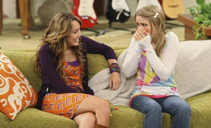 """HANNAH MONTANA - """"The Wheel Near My Bed (Keeps On Turnin')"""" - When Lilly's mom accepts a job in Atlanta, Robby invites Lilly to move into the Stewart home. But after Lilly overhears Miley complaining about their new living arrangement, she picks up and moves into her dad Kenneth's cramped apartment only to find his antics even more harebrained than Miley's, in a new episode of """"Hannah Montana,"""" premiering SUNDAY, FEBRUARY 21 (8:00-8:30 p.m., ET/PT) on Disney Channel. (Photo by Craig…"""
