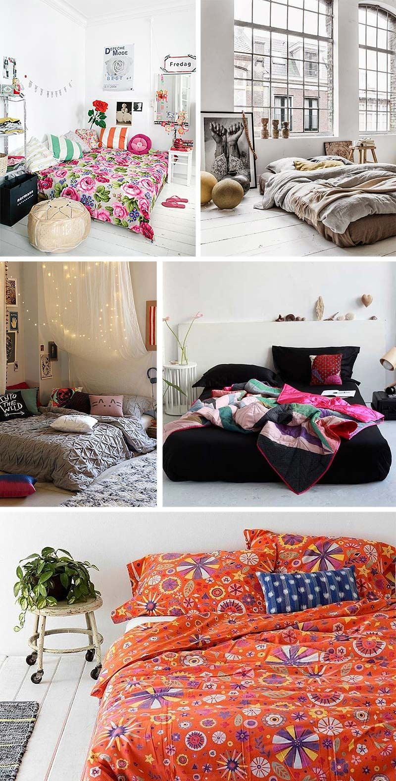M s de 25 ideas incre bles sobre cama no chao en pinterest for Cama sencilla