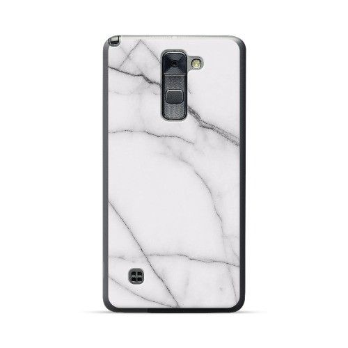 purchase cheap 7b491 92c87 LG Stylus/Stylo 2 /Plus White Marble Gray Vein Case | Things Wanted ...