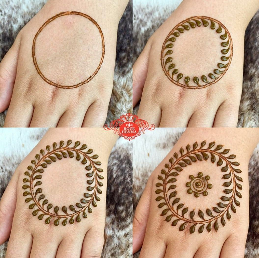 Pin By Sneha Patil On Mehendi Design Beginner Henna Designs Henna Designs Hand Simple Mehndi Designs