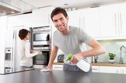 Outdoorküche Arbeitsplatte Anleitung : Eine betonarbeitsplatte können sie selber herstellen anleitung