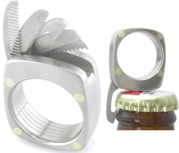 multitool wedding ring a few cool wedding rings - Unusual Wedding Rings