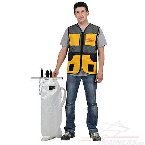 Vest For Dog Trainer V15 Professional Dog Training