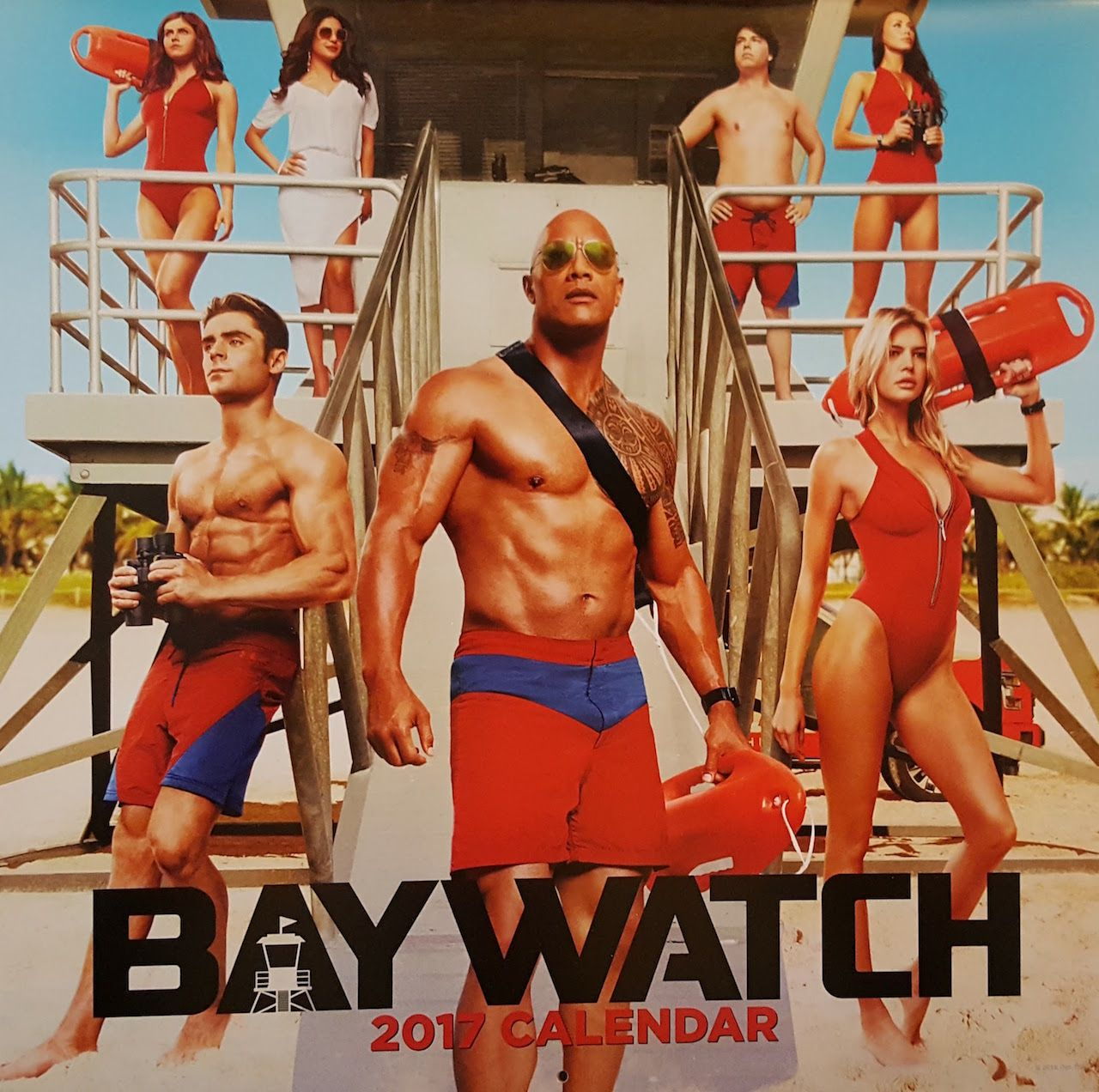 Photos From The Baywatch Movie 2017 Calendar Will Make You Want To Hit The Gym Geektyrant Baywatch Movie Baywatch Baywatch 2017