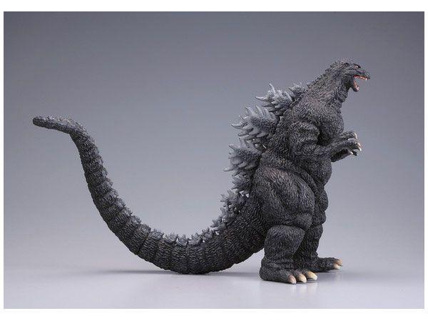 Godzilla 1993 1/400 Scale Sci-Fi Monster Soft Vinyl Model Kit by Kaiyodo - Click Image to Close