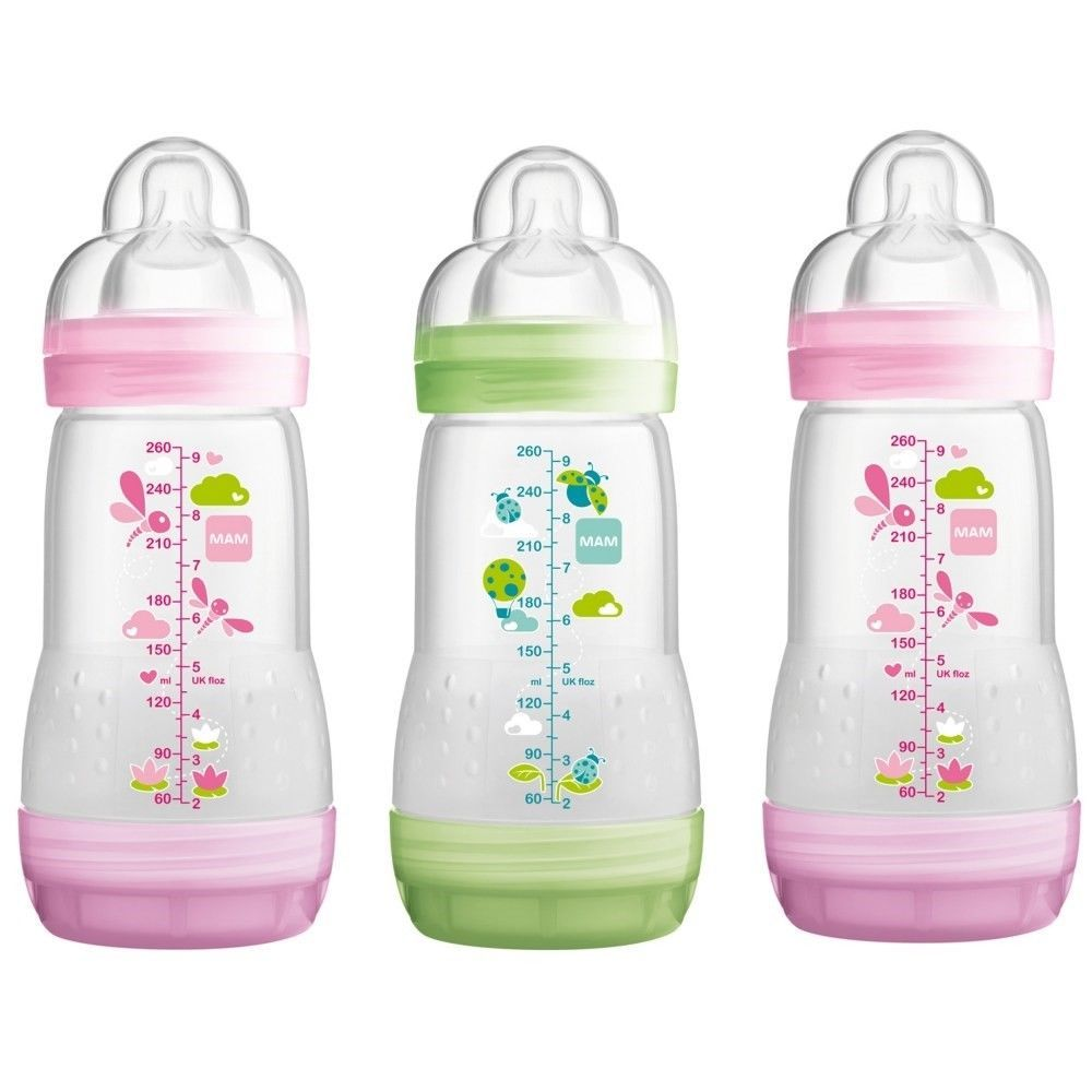 Available Color Mam Easy Start Anti-Colic Bottle 160ml 3pk