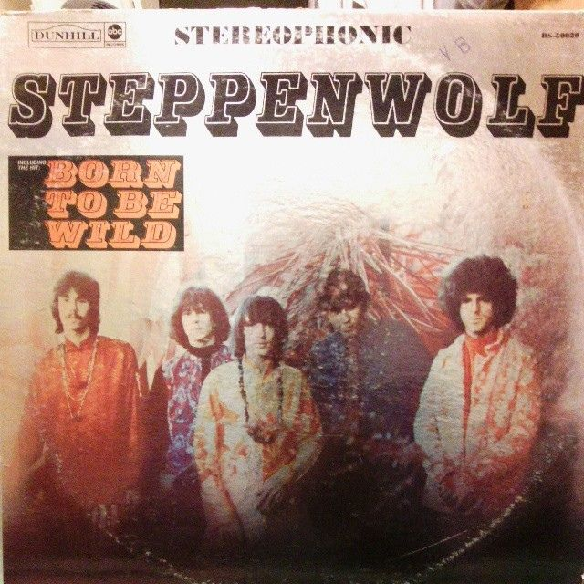 #Steppenwolf #LP #cover