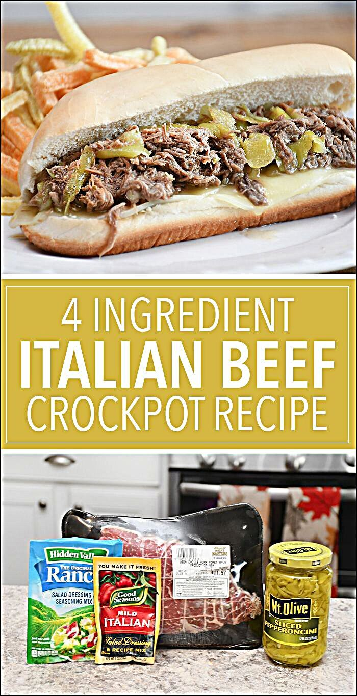 Break out your crockpot and start cooking this amazing homemade, feel-good meal. This is an easy 4 i...