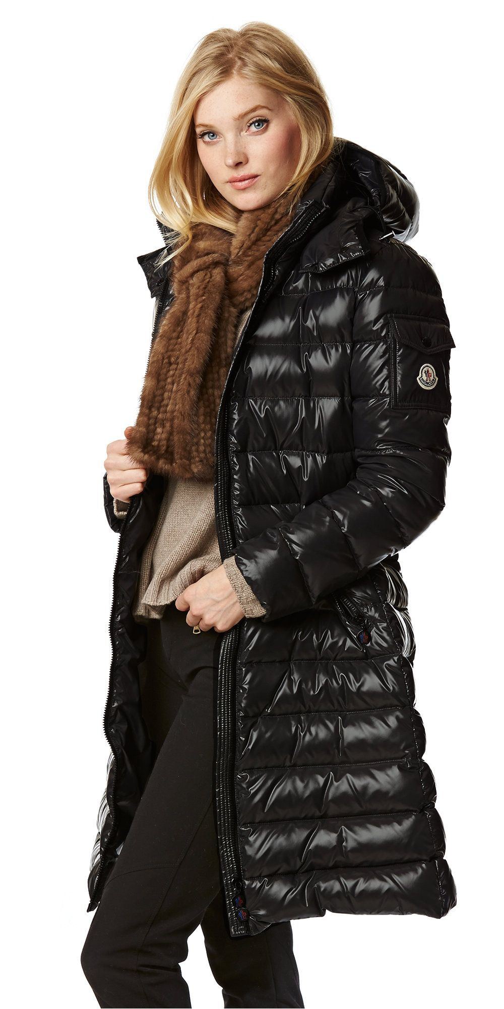 moncler moka down coat