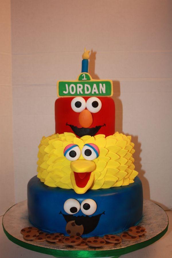 Sesame Street Cake Sesame Street Birthday Cakes Sesame Street