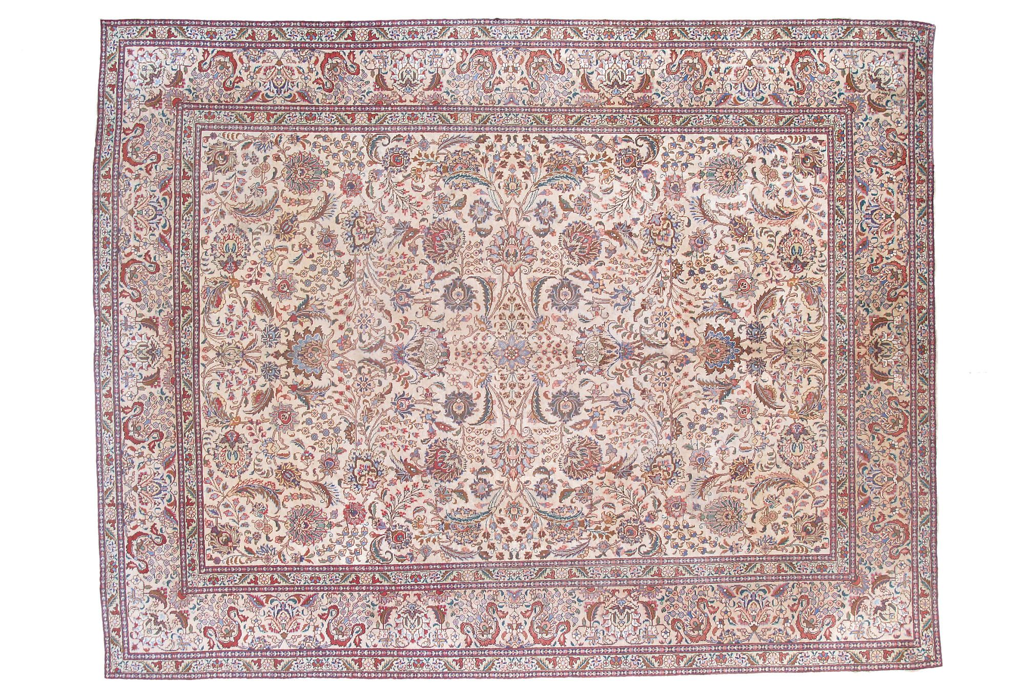 One Kings Lane Beneath The Feet 10x12 9 Semi Antique Persian Tabriz Rug Rugs Persian Tabriz Rug Antiques