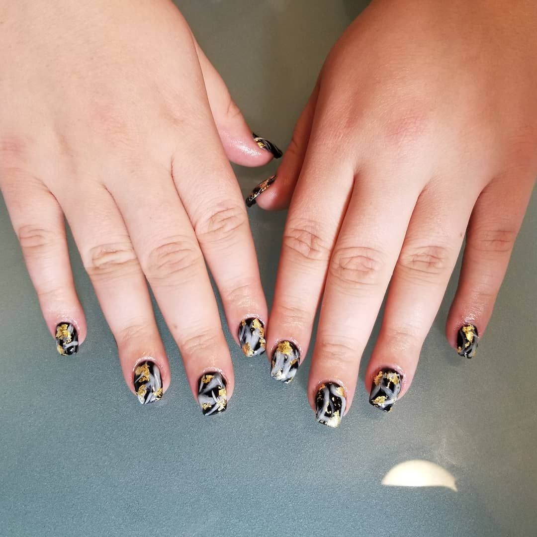 Real Gel Nails She Was Not Prepared For The