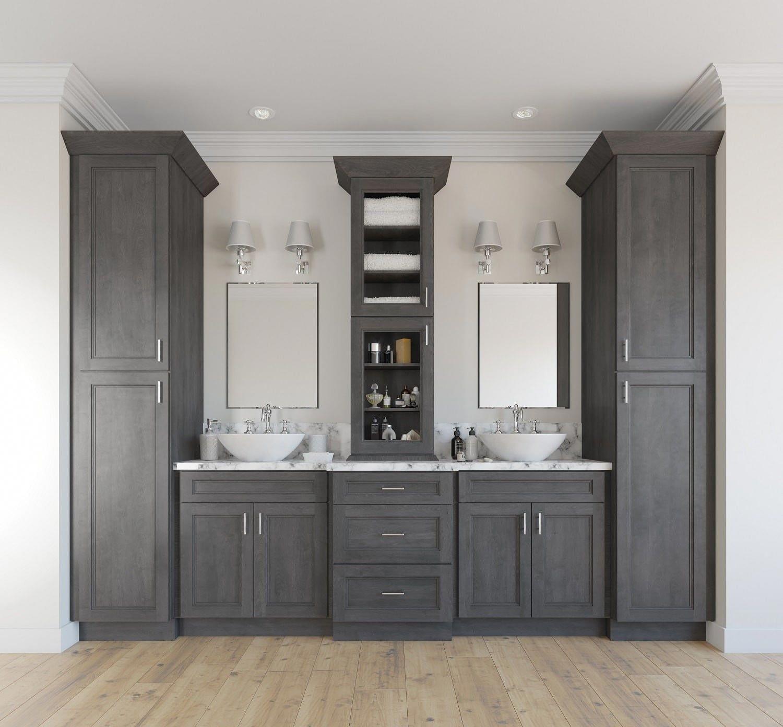 16++ Grey shaker bathroom vanity ideas