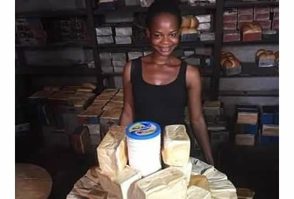 Olajumoke, NTA crew go on tour to the bakery where she worked before fame, view details at http://goo.gl/eCDYbP