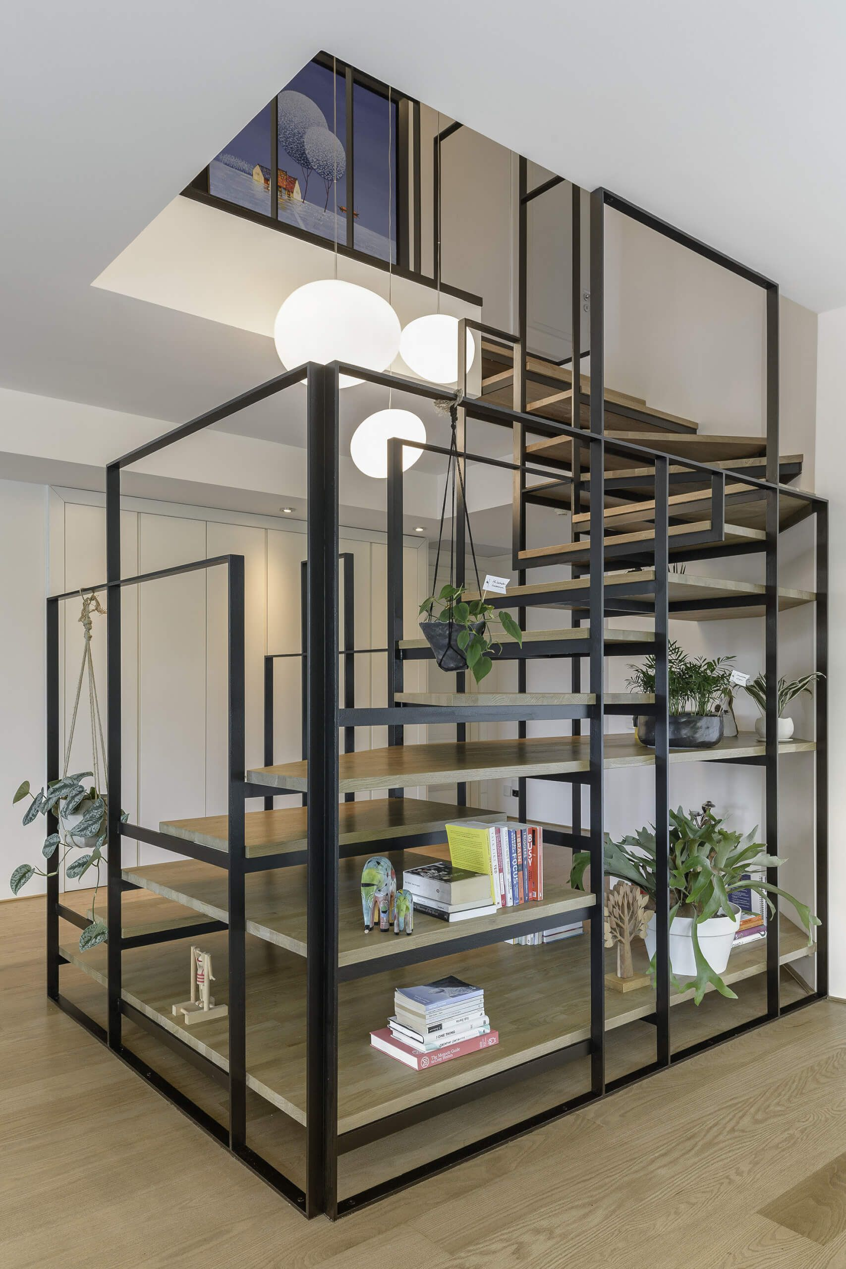 Best Istanbul Based Design Agency Create Stripped Out Staircase 400 x 300