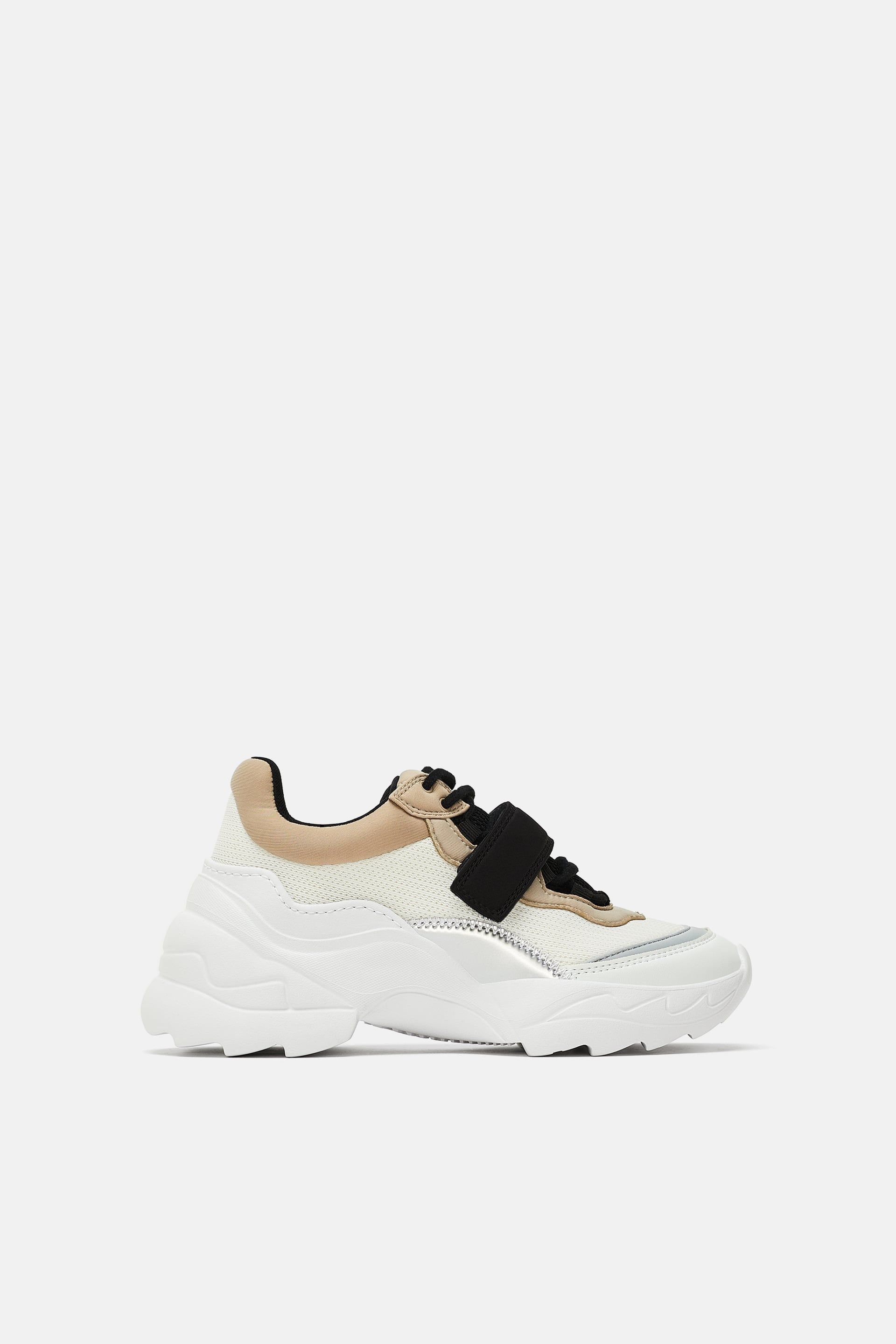 aeb796d8f54c9f Image 2 of ADJUSTABLE STRAP SNEAKERS from Zara