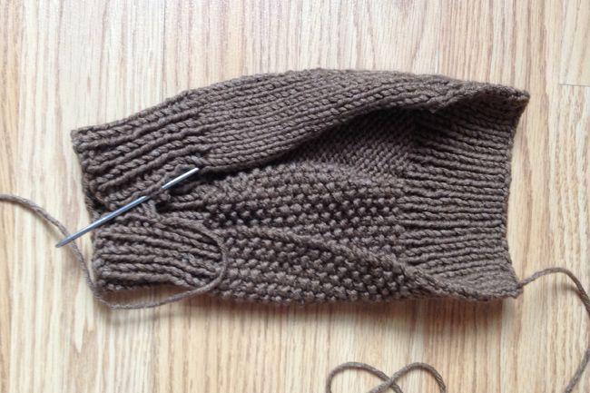 Free Knitting Pattern For Making Fingerless Mitts Easy Pattern