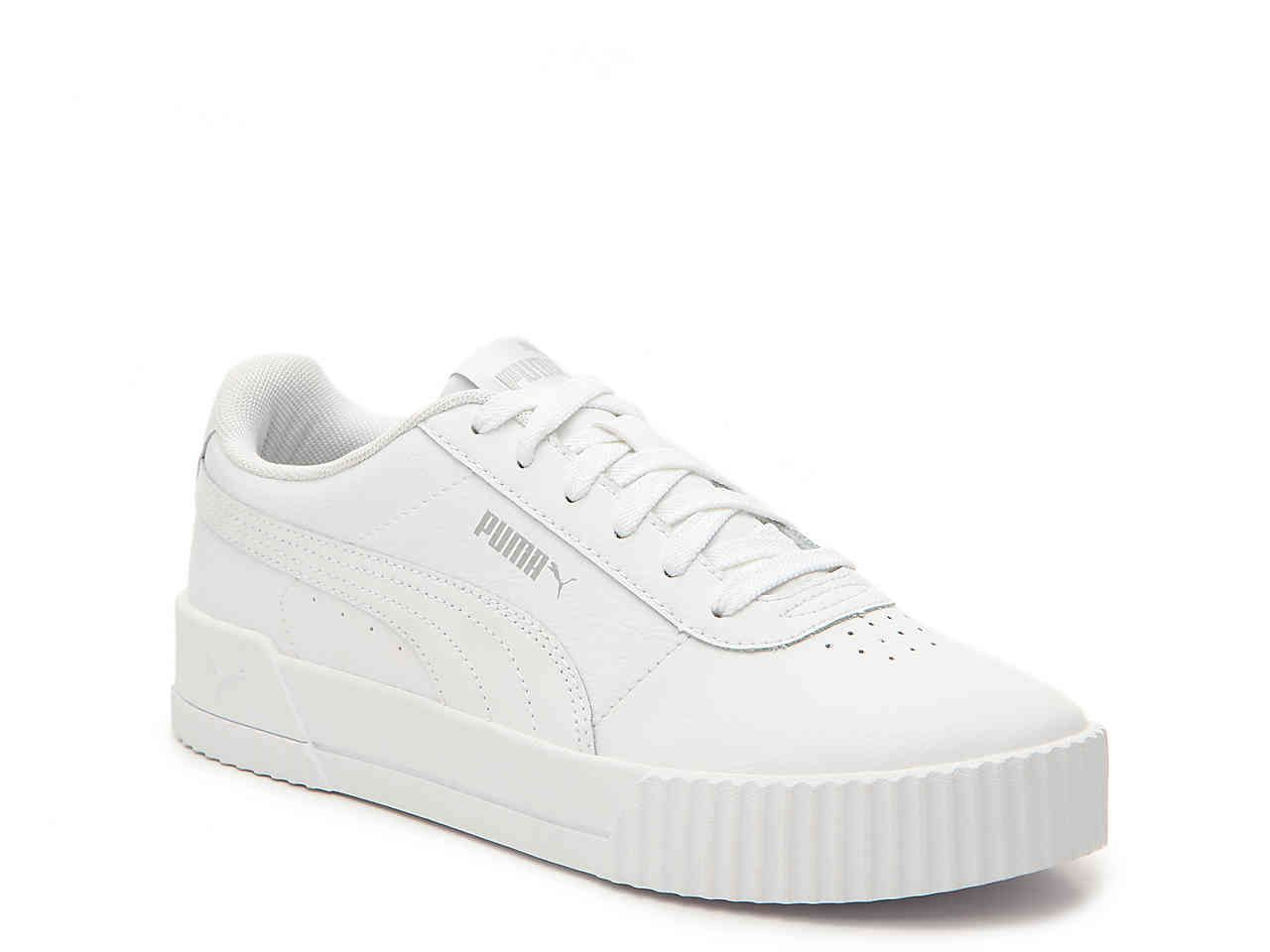 Puma Carina Sneaker - Women's Women's Shoes | DSW | White ...