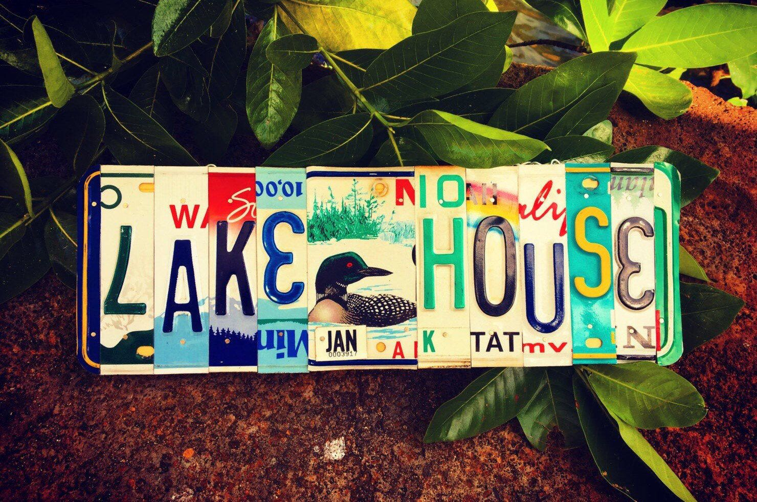 The Lake House ⚓️ #lakehouse #etsy #lakelife #lake #cabin #vacation #michigan #homedecor #lakeview #lakefront #decor #lakeside #lakeliving #lakehome #cabinlife #lakes
