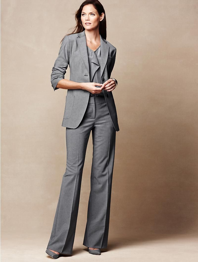 modern twist on the interview suit for women interview