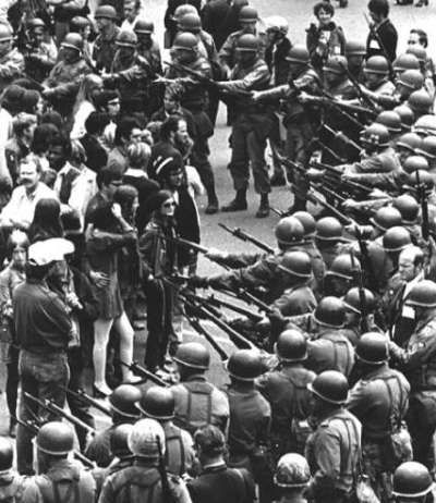 Berkeley students protest to open People's Park 1969