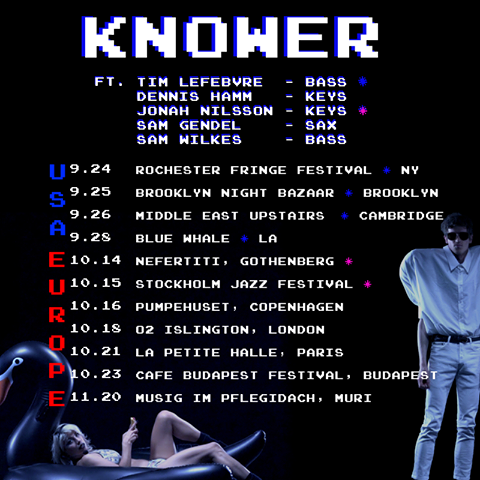 KNOWER - 24HR TICKET GIVEAWAY [Brooklyn  Cambridge Shows] via... IFTTT reddit giveaways freebies contests