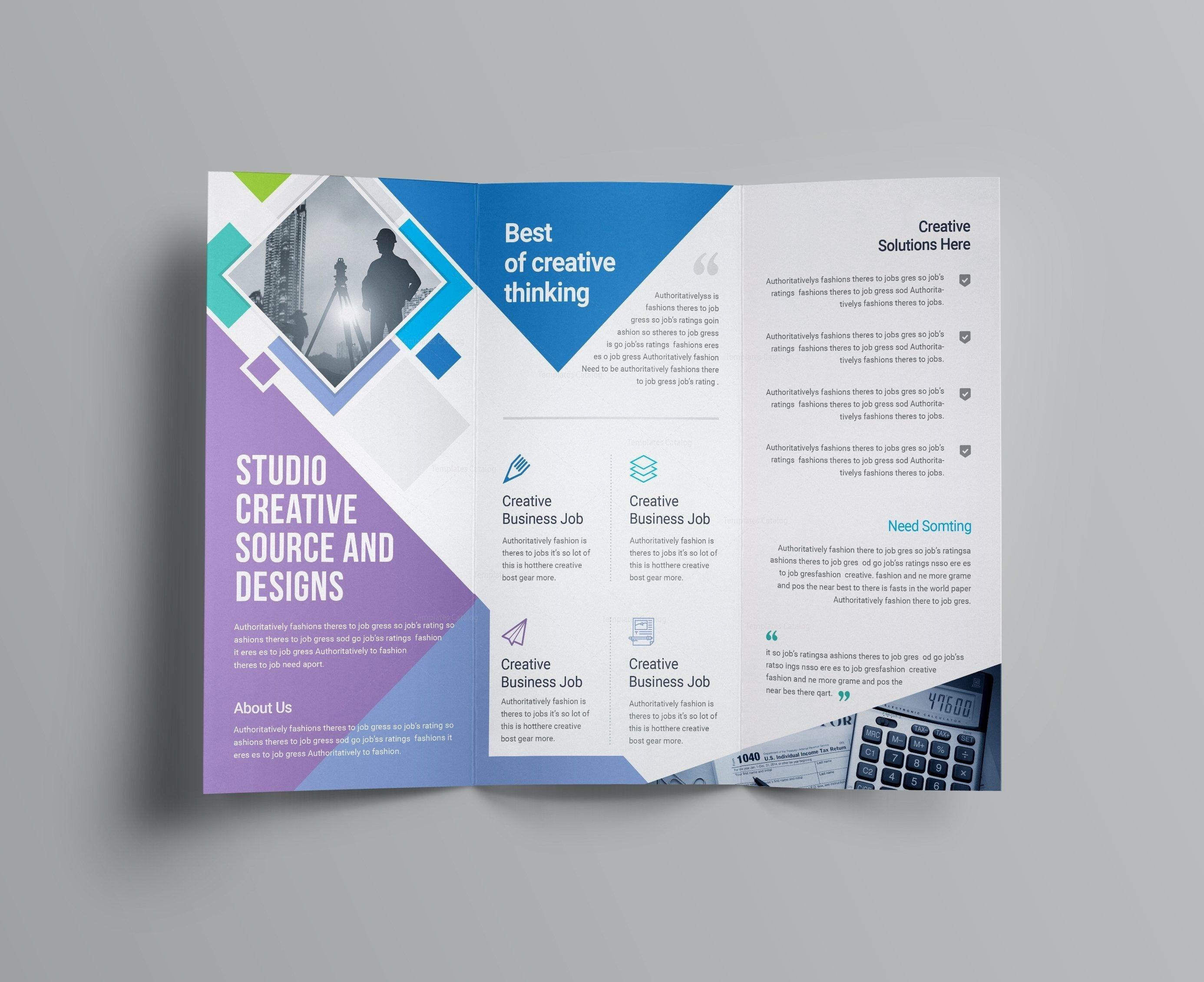 Tri Fold Brochure Template Microsoft Word 2007 Templates ...