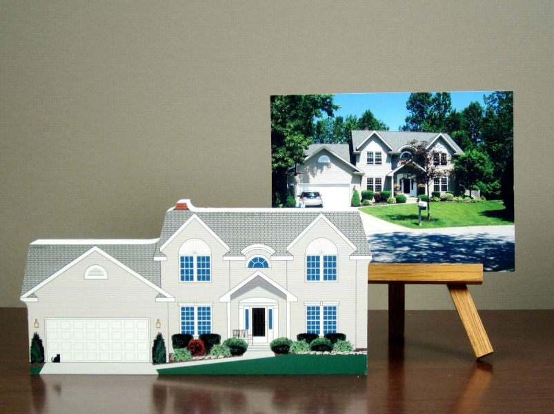 The cat 39 s meow village home created from customer photo - Design your own home application ...