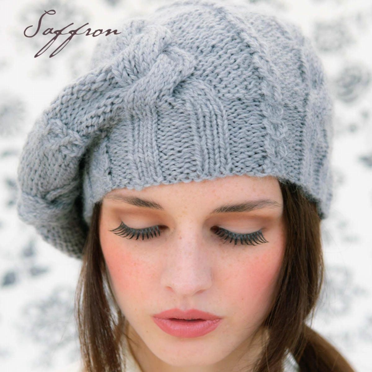 free knitted beret pattern | Knit | Pinterest | Beret, Patterns and ...