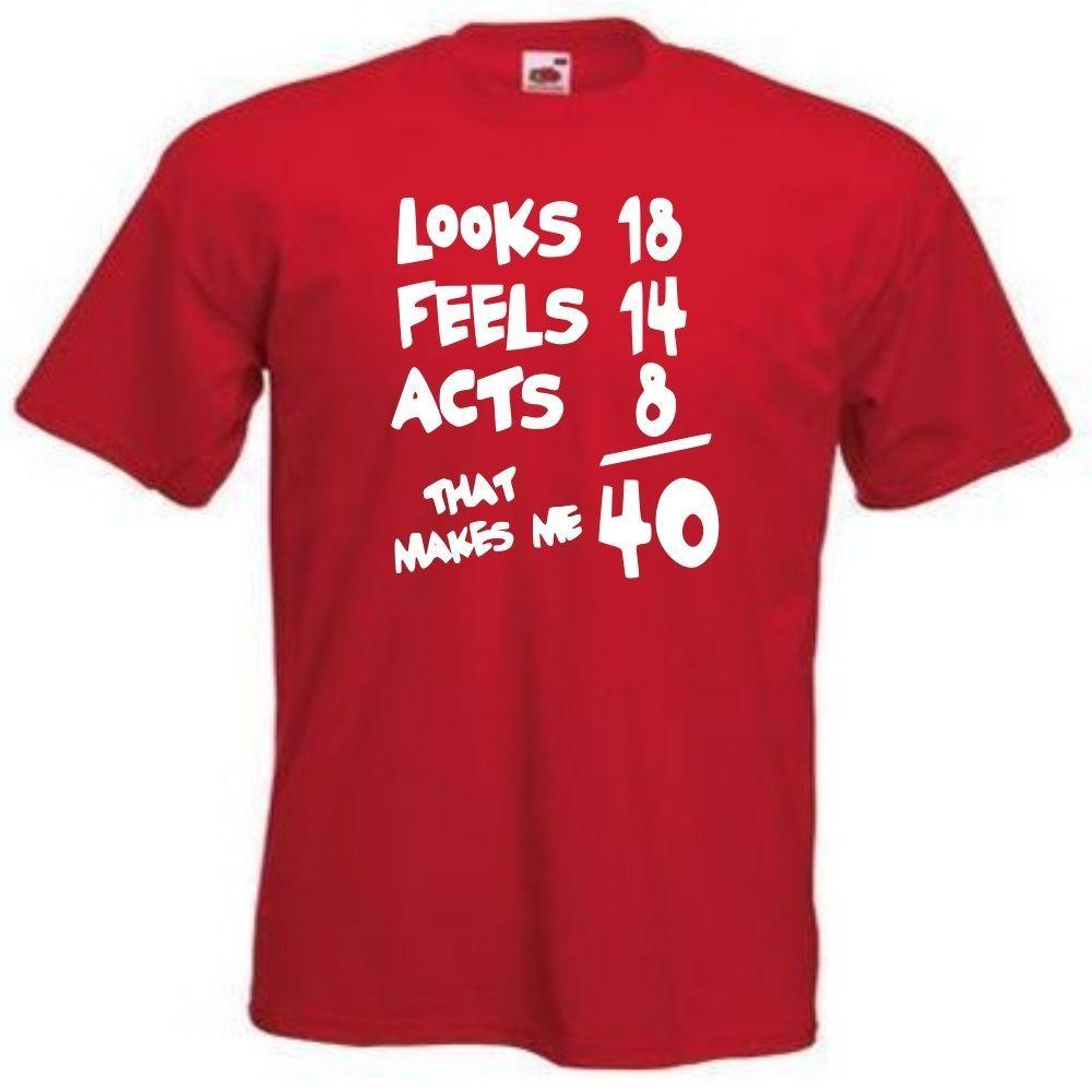 40th birthday funny gift idea tshirt 112 40th birthday