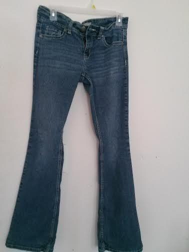 4 hours left!! Juniors Girls Size 9 Jeans Boot Cut #NoBoundaries #BootCut