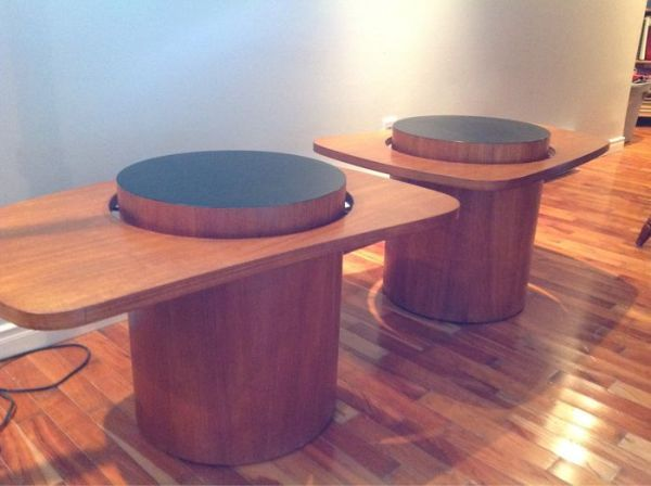 Martini Tables By Montreal S Rs Associates Furniture Circa Expo 67 On Kijiji Montreal Teak Chairs Teak Furniture Vintage Furniture