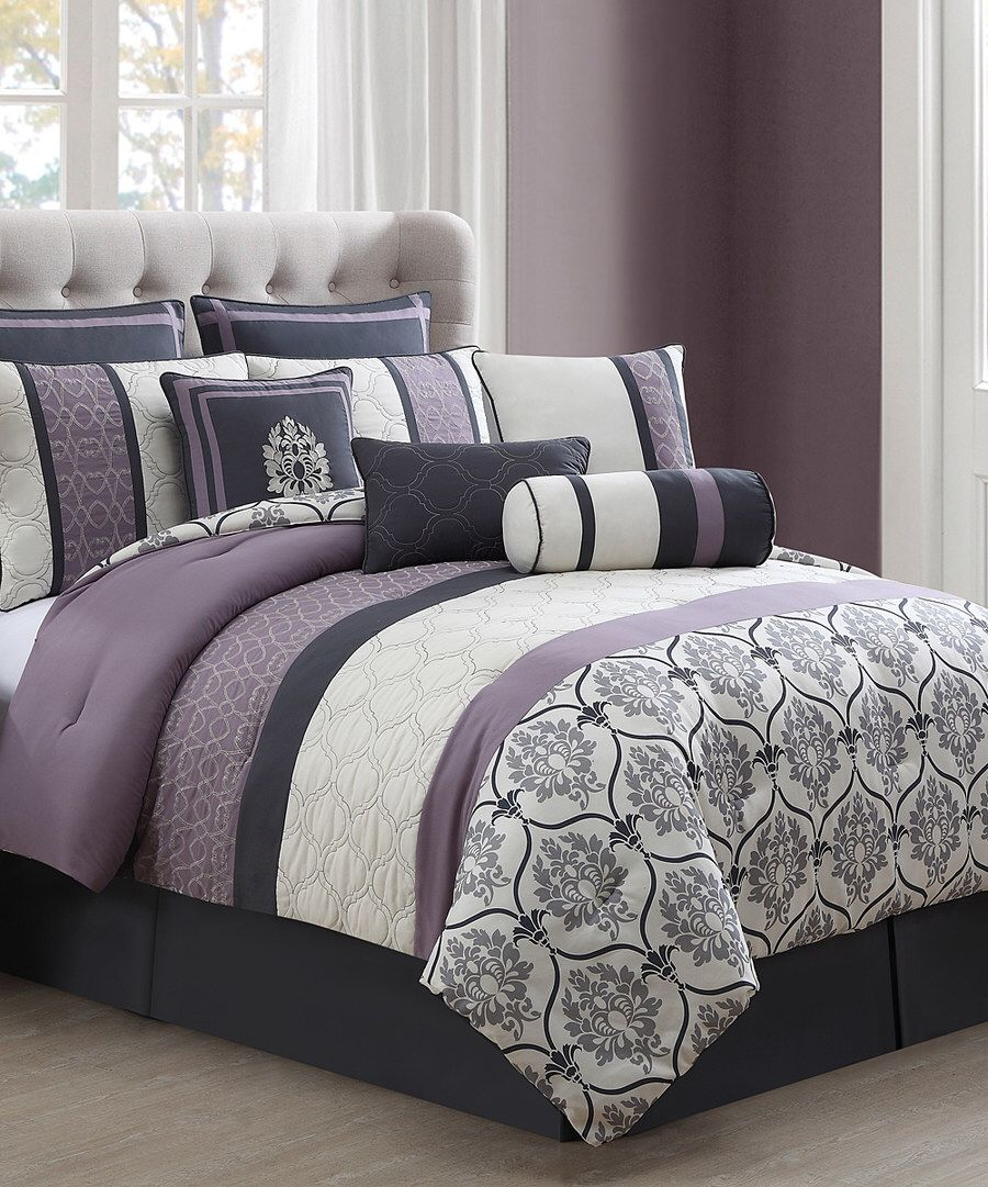 Look At This Gray Lilac Daria Comforter Set On Zulily Today
