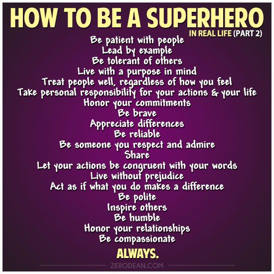 How to be a Superhero in Real Life (part 2) | Always a Teacher ...