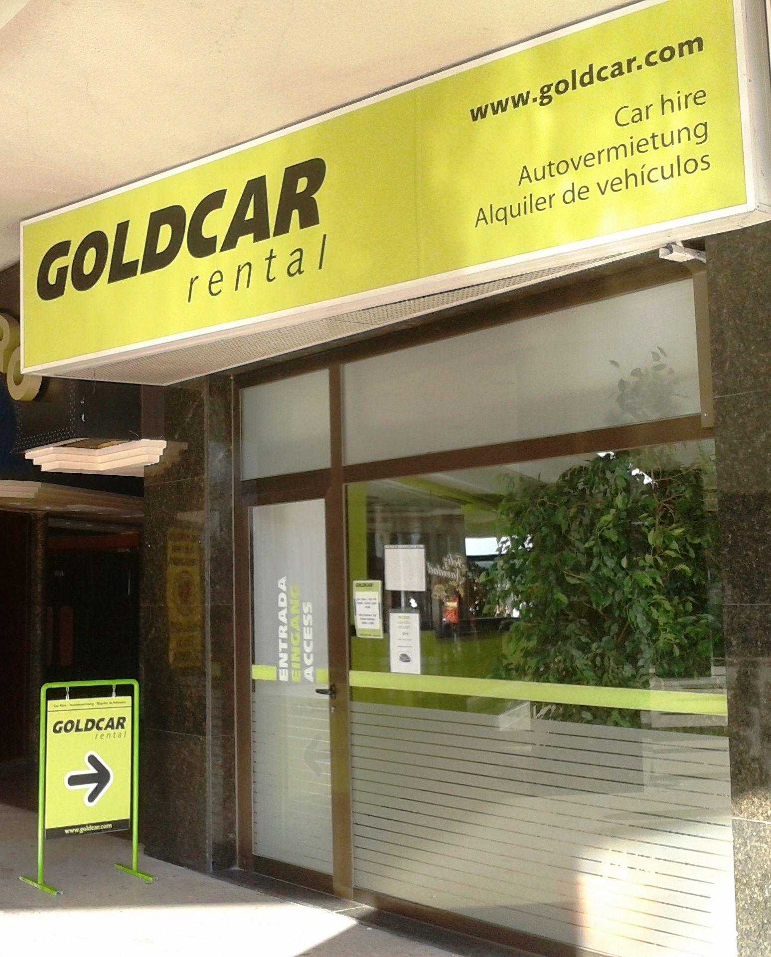 Goldcar Mallorca paseo marítimo