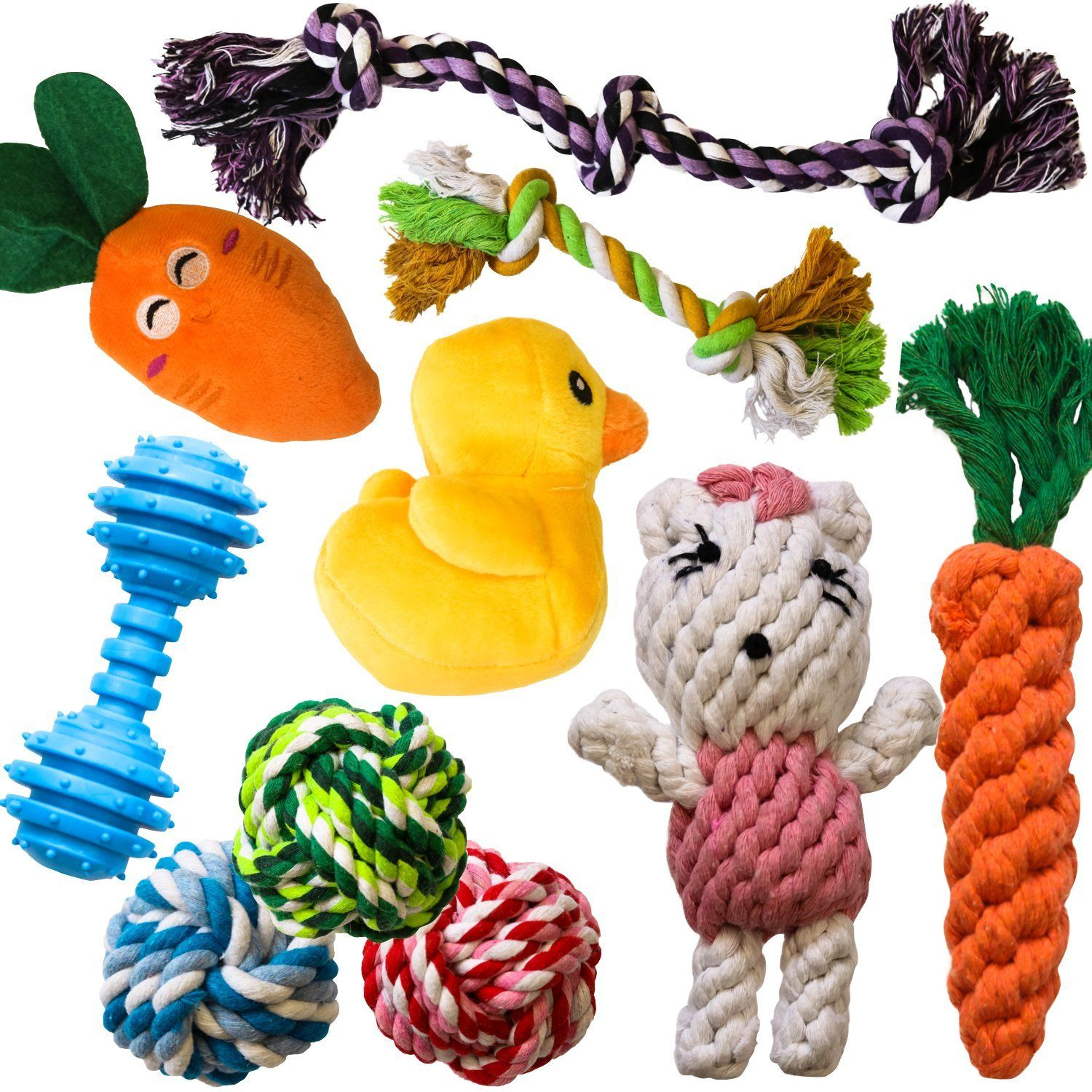 The 10 Most Popular Dog Toys By Amzpets Squeaky Toys Rope Toys