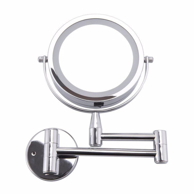 6 Inch Adjustable Wall Mounted Led Makeup Mirror Wall Mounted