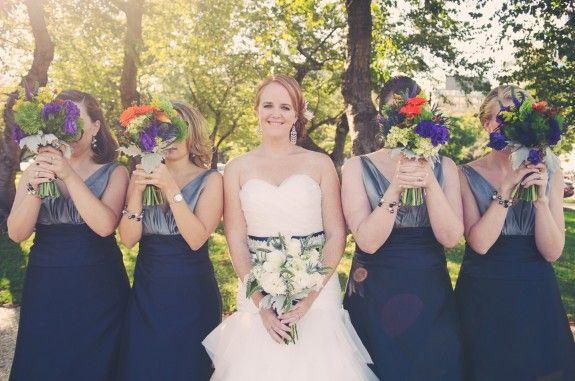 Love These Two Toned Bridesmaids Dresses Dc Weddings Wedding Couples Photography Washington Dc Wedding