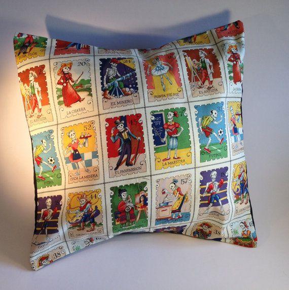 Custom made cushion pillow 40cm x 40cm by voodoobettysboutique