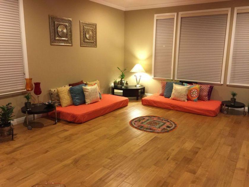 Baithak Living Room 5 Floor Seating Indian Living Rooms Home Decor