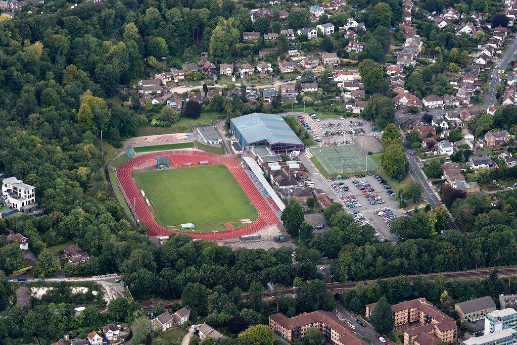 Withdean Sports Complex Brighton Aerial Image Aerial Images