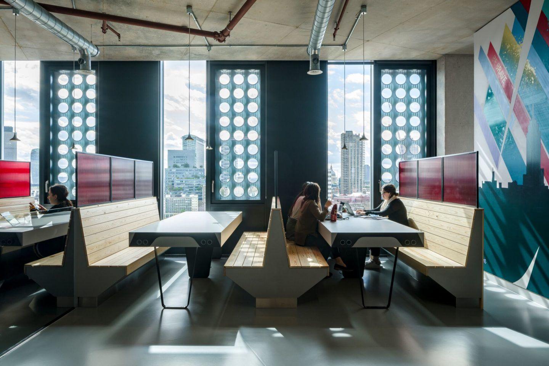 Spark 44 Workspace Design By Align Interiors Workspace Design Interior Interior Design