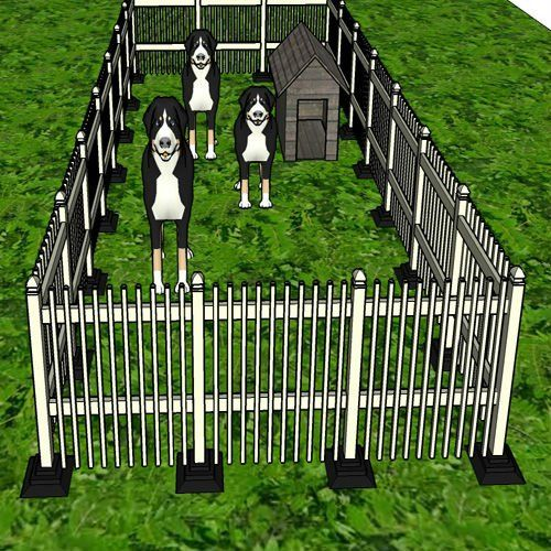 Cheap Dog Fence Gardening Pinte