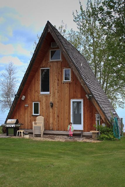 mad for a frames i really like this a frame house its the color of wood that god made the brown tones - Wood Frame House