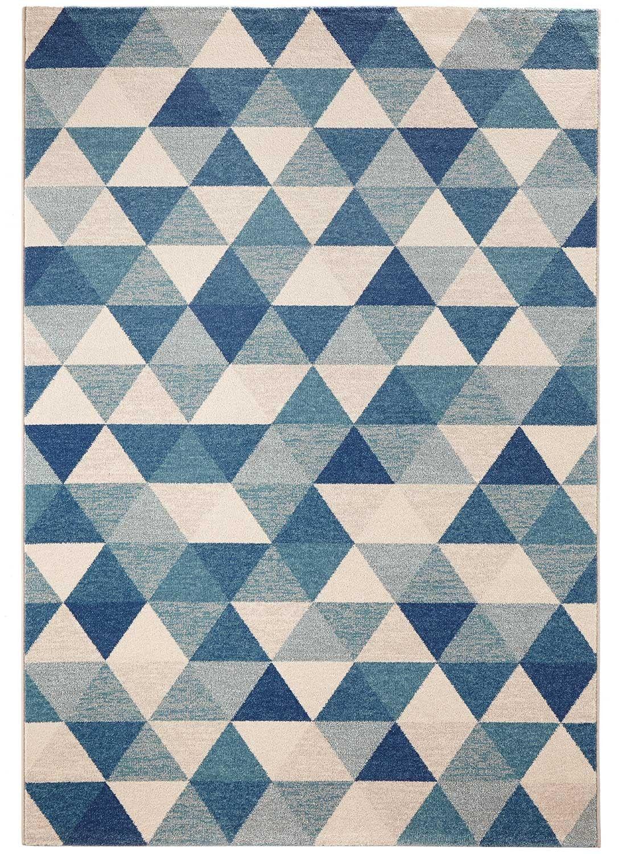 beau tapis salon bleu   Décoration française in 2019   Rugs ...